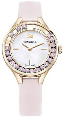 Swarovski Lovely Crystals Mini Leather Ladies Watch 5376089