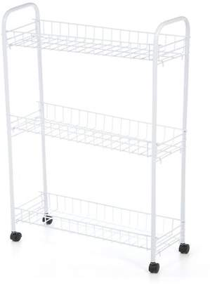 Honey-Can-Do 3 Tier Rolling Household Laundry Cart