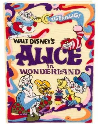 Olympia Le-Tan Alice In Wonderland Book Clutch