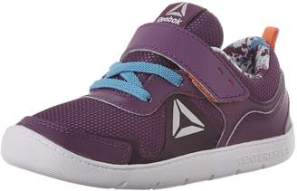 Reebok Kids Ventureflex Stride 5.0 Running Shoes, Aubergine/Blue Beam/Vitamin C/White