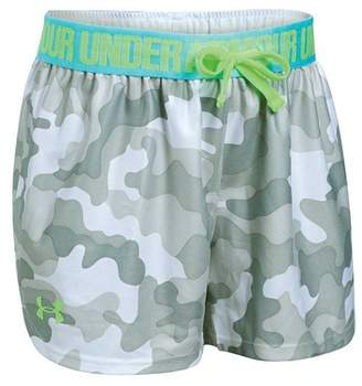 Under Armour Girl's Printed Play Up Shorts