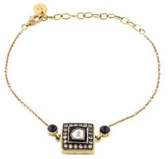 Amrapali 18K Diamond & Sapphire Station Bracelet