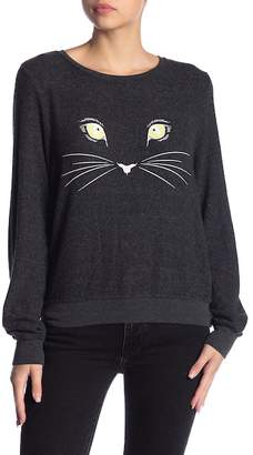 Wildfox Couture Meow Baggy Beach Sweater