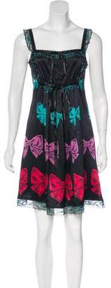 Betsey Johnson Silk Mini Dress