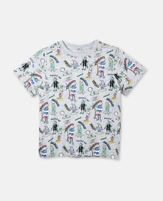 Stella McCartney arlo tourists print t-shirt