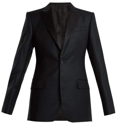 CONNOLLY Single-breasted wool-blend blazer