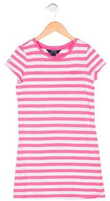Polo Ralph Lauren Girls' Stripe Knit Dress