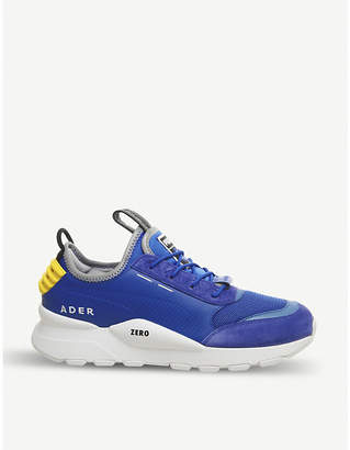 Puma x Ader Error RS-0 leather, nubuck and mesh trainers