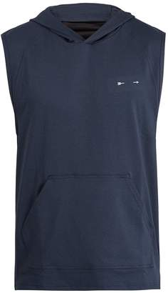 The Upside PS Trainer sleeveless hooded sweatshirt