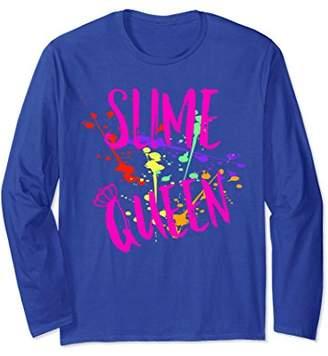 Girls Slime Queen Long Sleeve Shirt