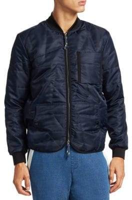 Madison Supply Zip-Up Bomber Jacket