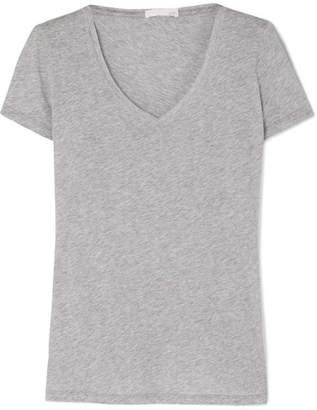 Skin - Essentials Pima Cotton-jersey Pajama Top - Gray