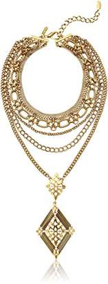 Badgley Mischka Multi-Row Convertible Drop Necklace