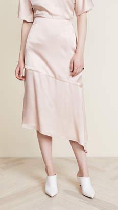 Cecil JENNY PARK Asymmetrical Skirt
