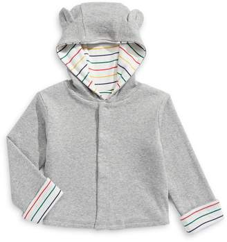 HBC Stripes Baby's Reversible Hooded Cardigan
