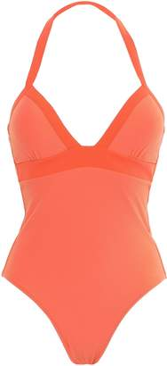 Heidi Klein Stretch-pique Halterneck Swimsuit