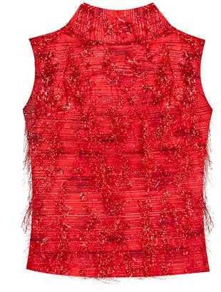 Bambah Violeta Sleeveless Silk Tunic