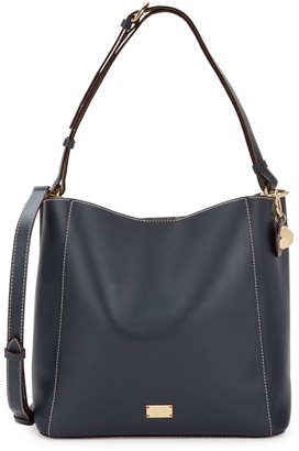 Frances Valentine Leather Convertible Tote