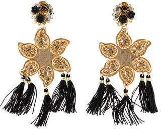 Mercedes Salazar Tassel Clip-On Earrings