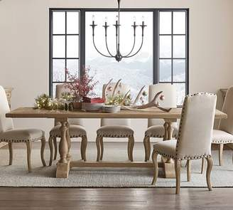 Pottery Barn Parkmore Reclaimed Wood Extending Dining Table