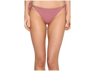 O'Neill Malibu Solids Tie Side Bottoms Women's Swimwear