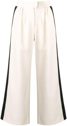 Gianluca Capannolo two-tone wide leg trousers