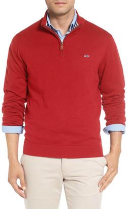 Vineyard Vines Quarter Zip Sweater $135 thestylecure.com