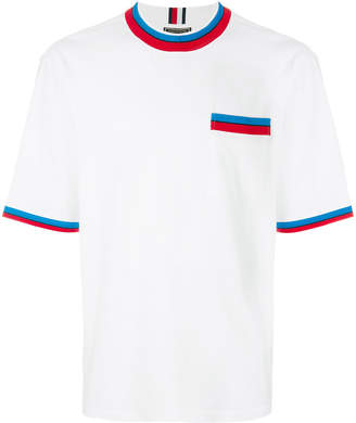 Tommy Hilfiger striped detail T-shirt