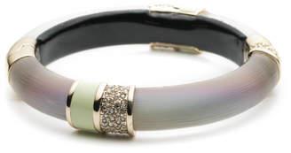 Alexis Bittar Crystal Encrusted Segmented Hinge Bracelet