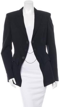 Jean Paul Gaultier Virgin Wool Double-Breasted Blazer $175 thestylecure.com