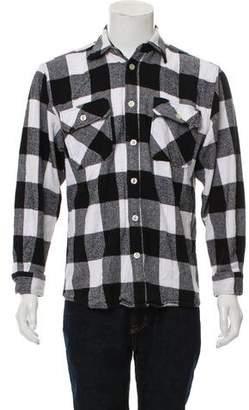 Anti SocialSocial Club Park Flannel Shirt
