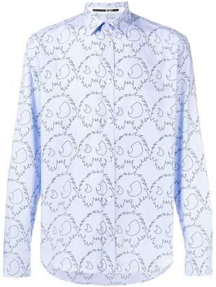 McQ printed button shirt