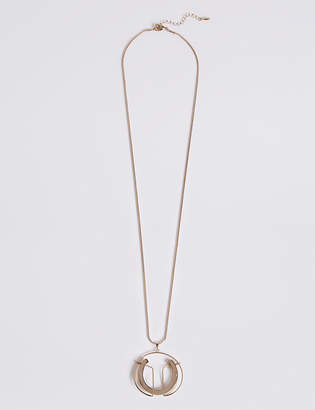 Marks and Spencer Sculptural Pendant Necklace