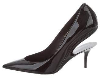 Maison Margiela Patent Leather Pointed-Toe Pumps w/ Tags