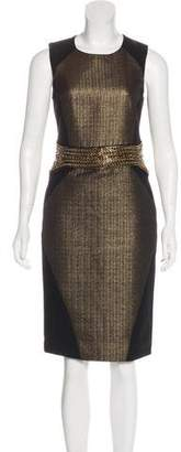 Etro Embellished Sheath Dress