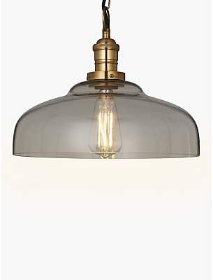 large glass pendant light dining room at john lewis and partners clyde croft collection glass pendant ceiling light shades shopstyle uk