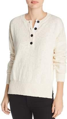 Derek Lam 10 Crosby Henley Sweater