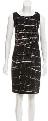 Max Mara Knee-Length Virgin Wool Dress