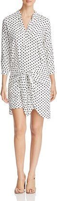 4OUR DREAMERS Dot Print Sarong Dress $108 thestylecure.com