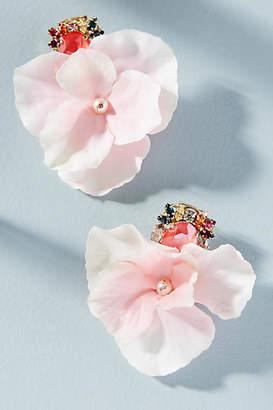 Anton Heunis Chasing Rainbows Floral Earrings
