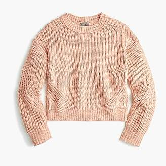 J.Crew Point Sur chunky ribbed crewneck sweater