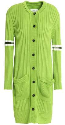 Maison Margiela Ribbed Cotton Cardigan
