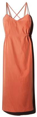 Back String Slip Dress