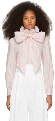 Marc Jacobs Pink High Collar Shirt