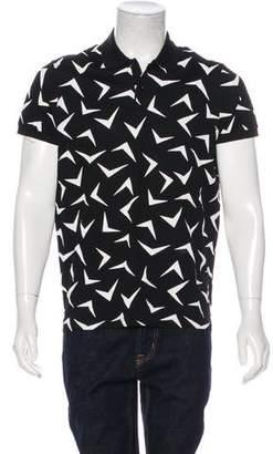 Saint Laurent 2015 Graphic Polo Shirt w/ Tags