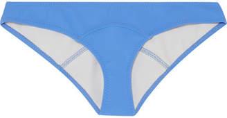 Lisa Marie Fernandez Arden Bonded Bikini Briefs - Azure