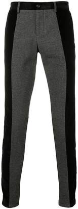 Dolce & Gabbana contrasting side panel trousers