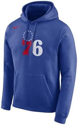 Nike Philadelphia 76ers Men's Logo NBA Hoodie