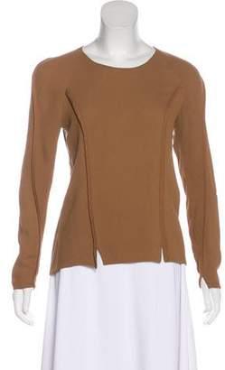 3.1 Phillip Lim Long Sleeve Silk Top