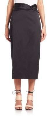 3.1 Phillip Lim Knotted-Waist Skirt $495 thestylecure.com